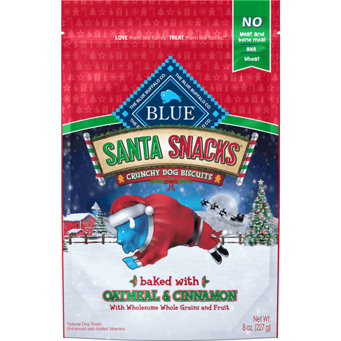 Blue Buffalo Santa Snacks