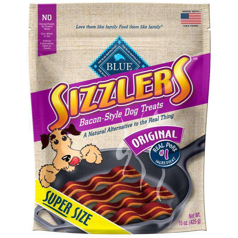 Blue Savory Sizzlers Pork Dog Treats 425g Dog Treats - PetMax
