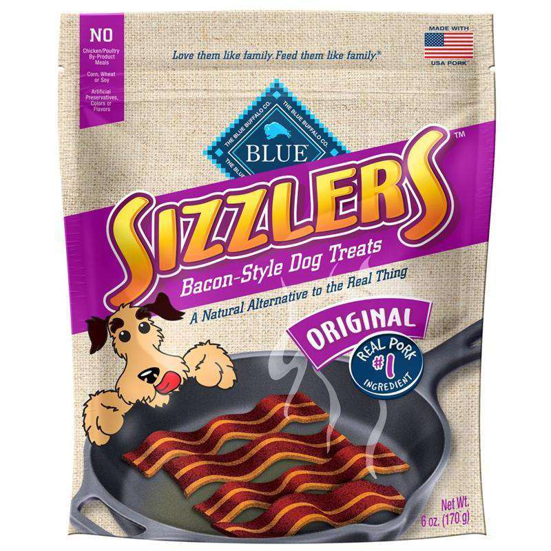 Blue Savory Sizzlers Pork Dog Treats 170g Dog Treats - PetMax