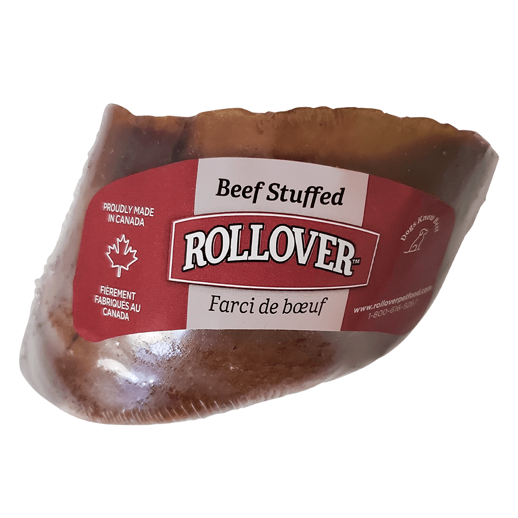 Rollover Stuffed Hoof Beef  Chew Products - PetMax
