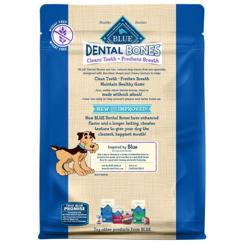 Blue Bones Large Dental Chews | Dog Treats -  pet-max.myshopify.com