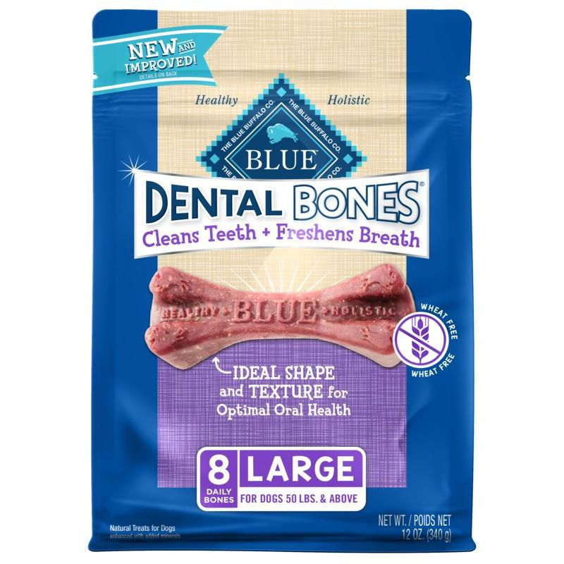 Blue Bones Large Dental Chews  Dog Treats - PetMax