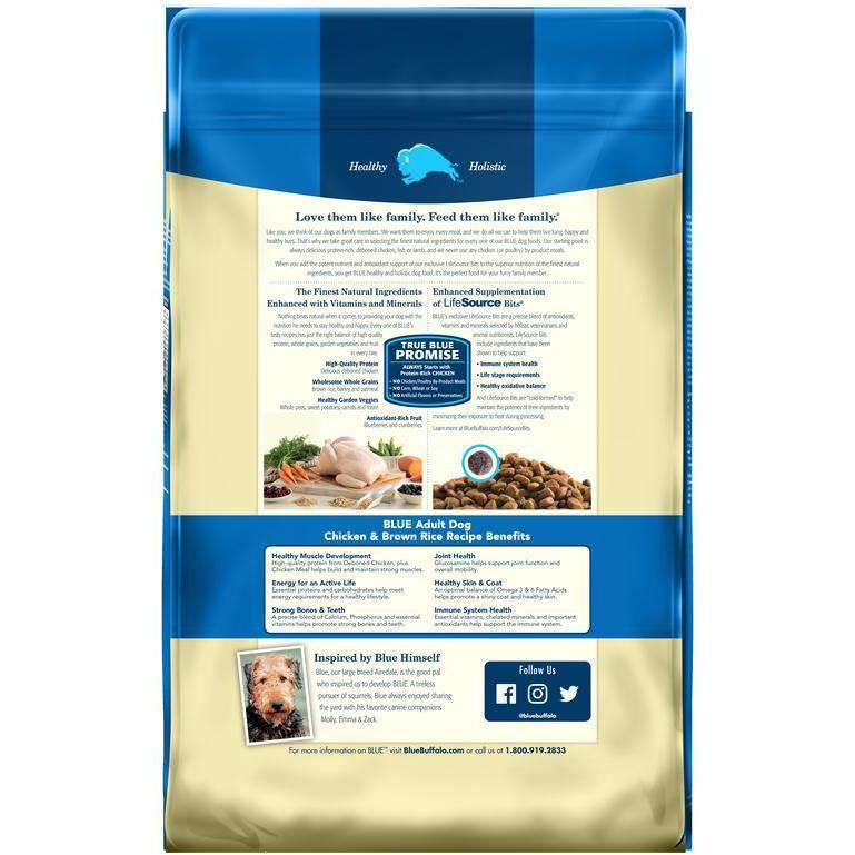 Blue Buffalo Life Protection Dog Food Chicken & Rice  Dog Food - PetMax