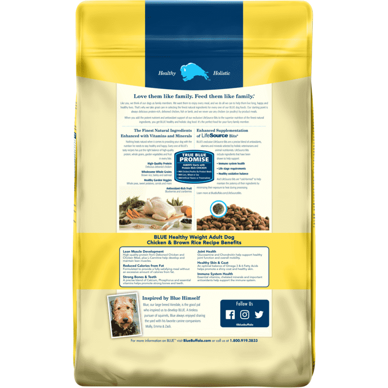 Blue Buffalo Life Protection Healthy Weight Dog Food | Dog Food -  pet-max.myshopify.com