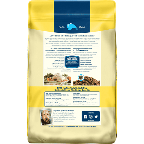 Blue Buffalo Life Protection Healthy Weight Dog Food