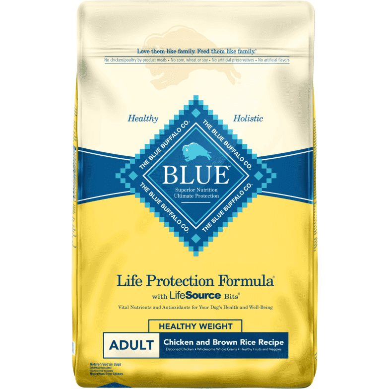 Blue Buffalo Life Protection Healthy Weight Dog Food  Dog Food - PetMax