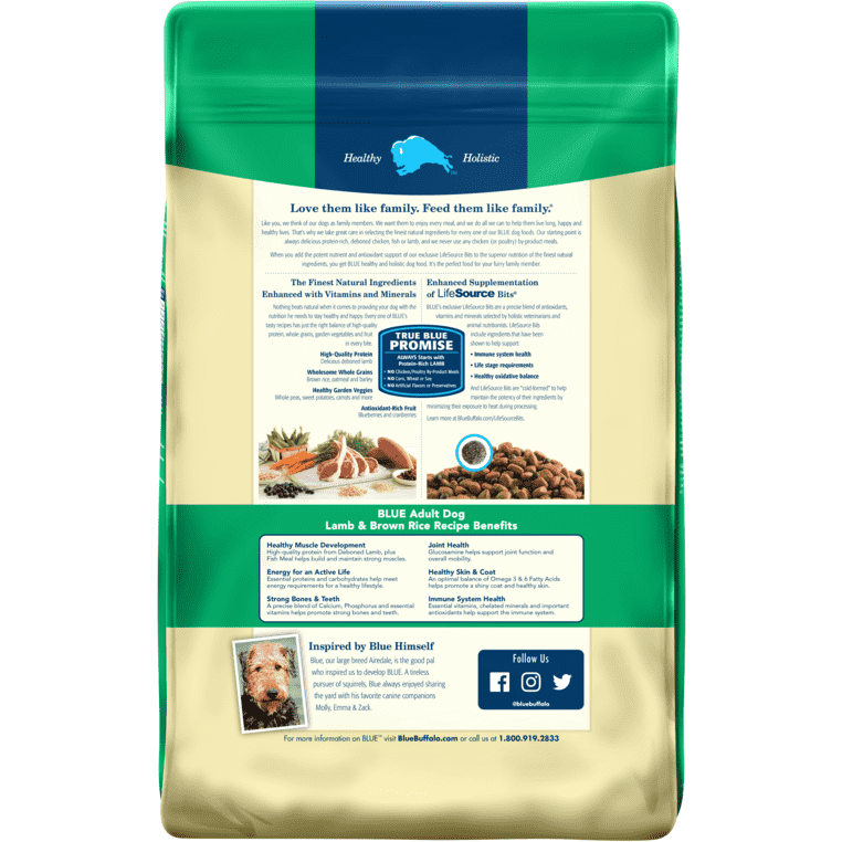 Blue Buffalo Life Protection Dog Food Lamb & Rice | Dog Food -  pet-max.myshopify.com