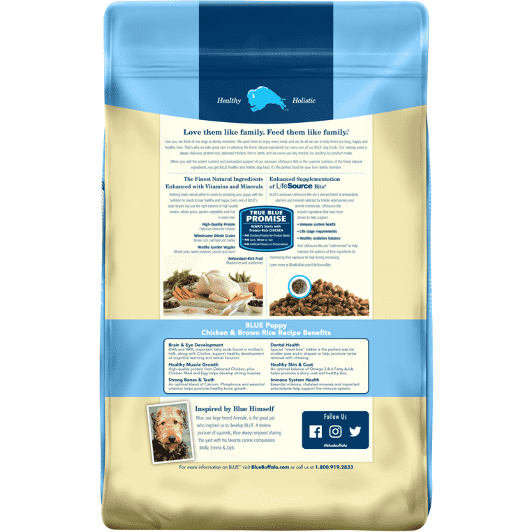 Blue Life Protection Puppy Food Chicken & Rice Dog Food [variant_title] [option1] - PetMax.ca