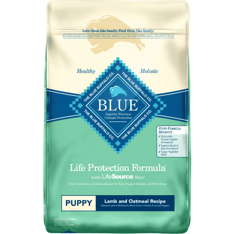 Blue Buffalo Life Protection Puppy Food Lamb & Oatmeal