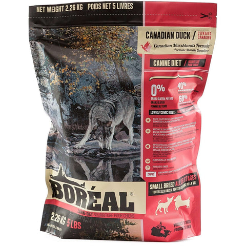 Boreal Dog Grain Free Small Breed Duck, Dog Food, Boreal Pet Food - PetMax