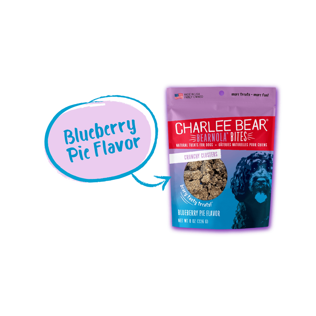 Charlee Bear Bearnola Blueberry Pie Flavor [variant_title] [option1] | Dog Treats Charlee Bear -  pet-max.myshopify.com
