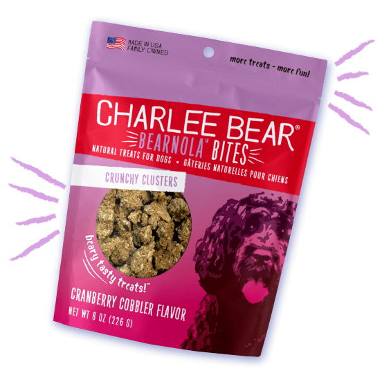 Charlee Bear Bearnola Cranberry Cobbler [variant_title] [option1] | Dog Treats Charlee Bear -  pet-max.myshopify.com