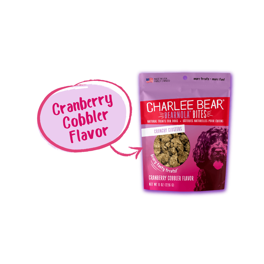 Charlee Bear Bearnola Cranberry Cobbler