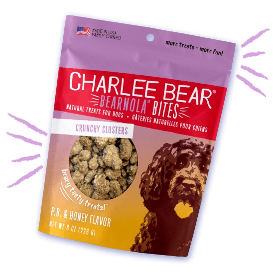 Charlee Bear Bearnola Peanut Butter & Honey Flavor [variant_title] [option1] | Dog Treats Charlee Bear -  pet-max.myshopify.com