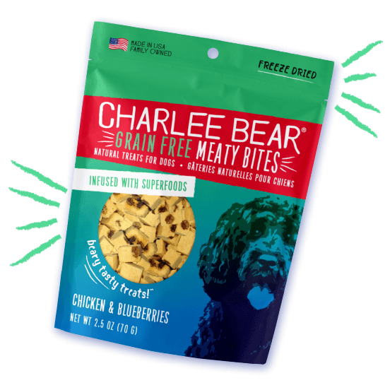 Charlee Bear Grain Free Meaty Bites Chicken & Blueberry [variant_title] [option1] | Dog Treats Charlee Bear -  pet-max.myshopify.com