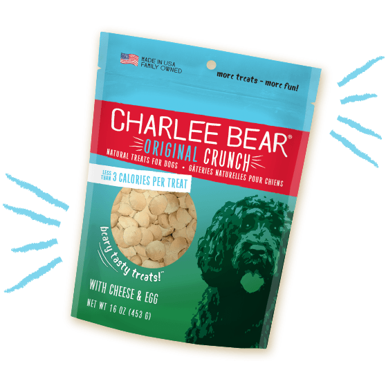 Charlee Bear Dog Treats Cheese And Egg