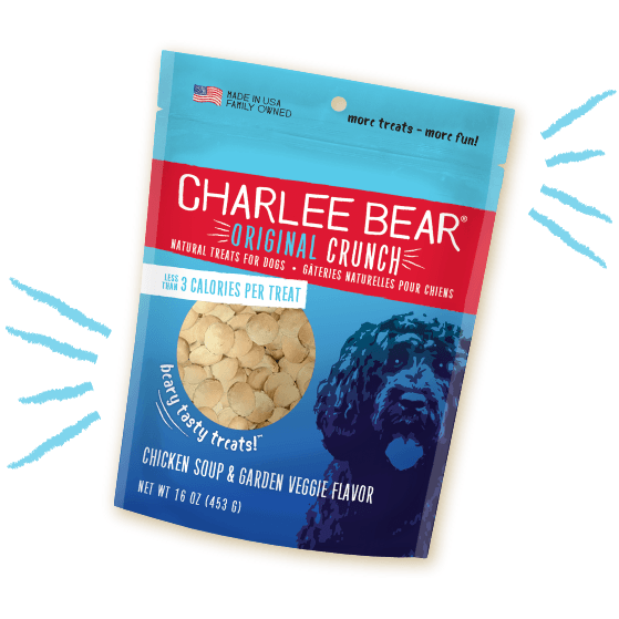 Charlee Bear Dog Treats Chicken Soup & Garden Veggie [variant_title] [option1] | Dog Treats Charlee Bear -  pet-max.myshopify.com