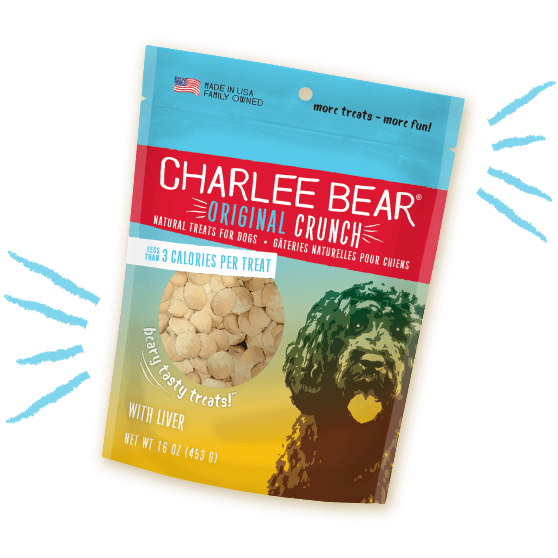 Charlee Bear Dog Treats With Liver