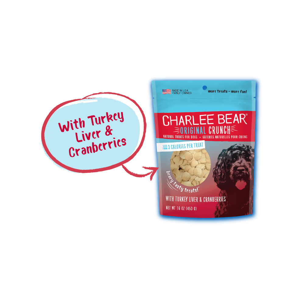Charlee Bear Dog Treats Turkey & Cranberry