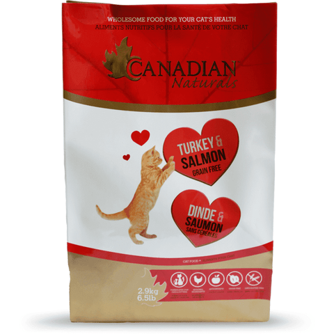 Canadian Naturals Cat Food Grain Free Turkey & Salmon, Dry Cat Food, Canadian Naturals - PetMax