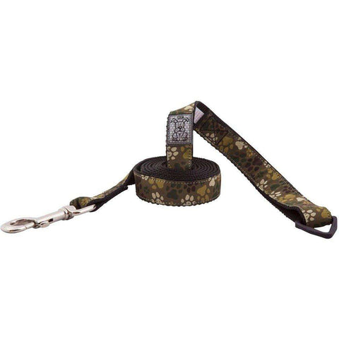 RC Dog Leash Pattern Camo Paws, Leashes, RC Pet Products - PetMax Canada