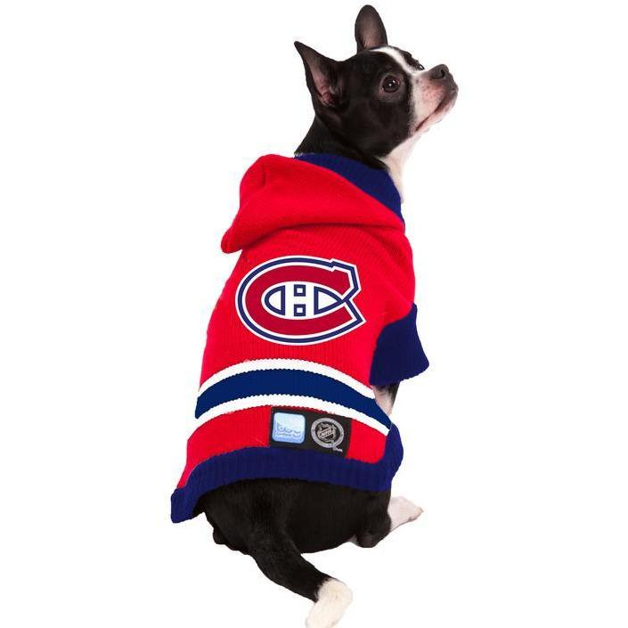 NHL Montreal Canadiens Sweater | Dog Clothing -  pet-max.myshopify.com