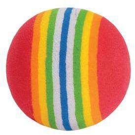 Furry Frolics Cat Toy Marble & Rainbow Foam Balls, Cat Toys, Rolf C Hagen Inc. - PetMax Canada