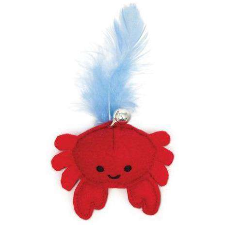 Cat It Play Pirate Catnip Toy Crab