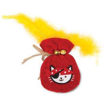 Cat It Play Pirate Catnip Toy Gold Pouch | Cat Toys -  pet-max.myshopify.com