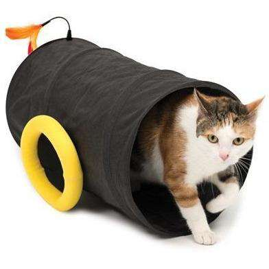 Cat It Play Pirate Cat Cannon Tunnel  Cat Toys - PetMax