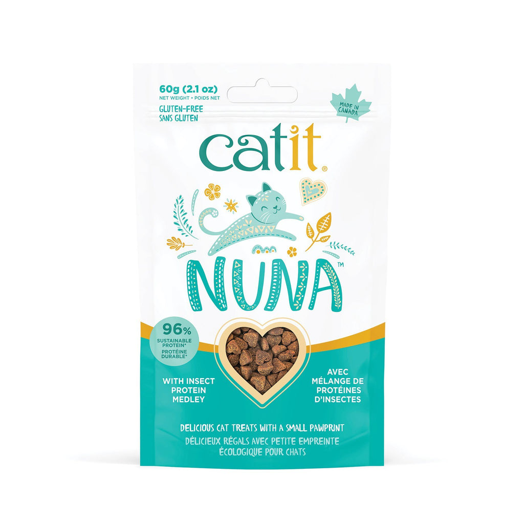 Catit Nuna Cat Treat Insect Protien Medley  Cat Treats - PetMax