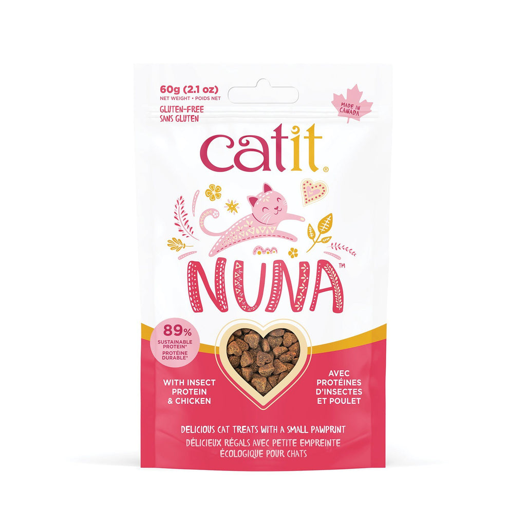 Catit Nuna Cat Treat Insect Protien & Chicken  Cat Treats - PetMax
