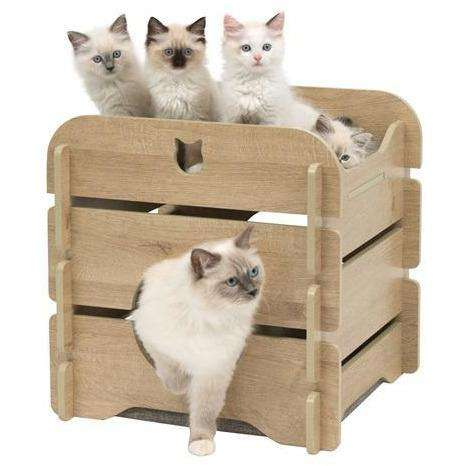Vesper Cottage Oak  Cat Scratching Posts - PetMax
