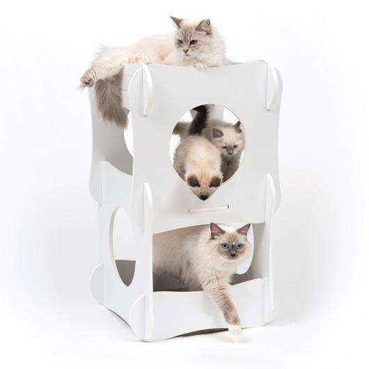 Vesper Condo Cat Scratching Posts [variant_title] [option1] - PetMax.ca