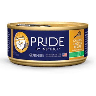 Instinct Pride Cat Can Grain Free Champ's Chicken, Canned Cat Food, Nature's Variety - PetMax