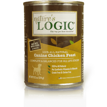 Nature's Logic Canned Dog Food Chicken Feast