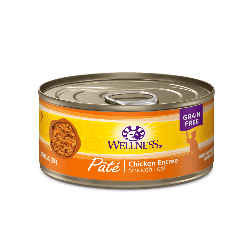 Wellness Canned Cat Chicken  Canned Cat Food - PetMax