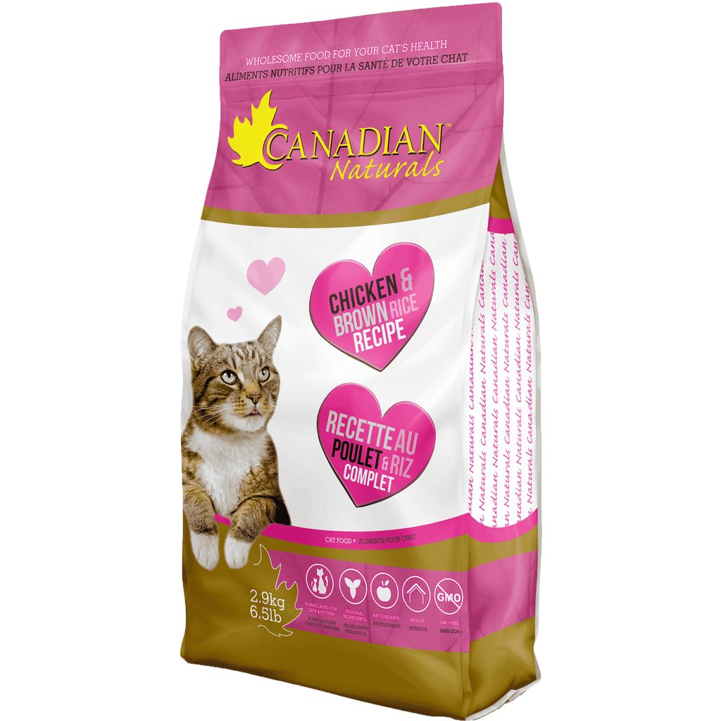 Canadian Naturals Cat Food Chicken & Brown Rice | Dry Cat Food -  pet-max.myshopify.com
