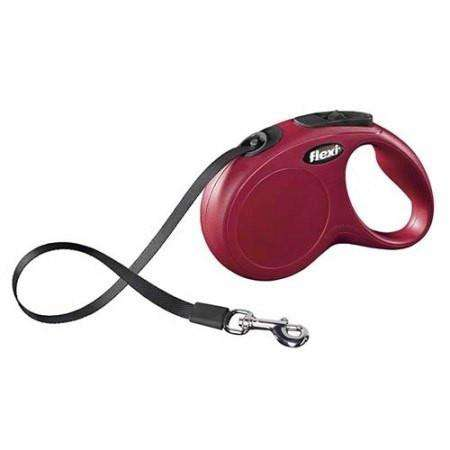 Flexi Classic Tape Medium Breed Max 25kg / Red Leashes - PetMax