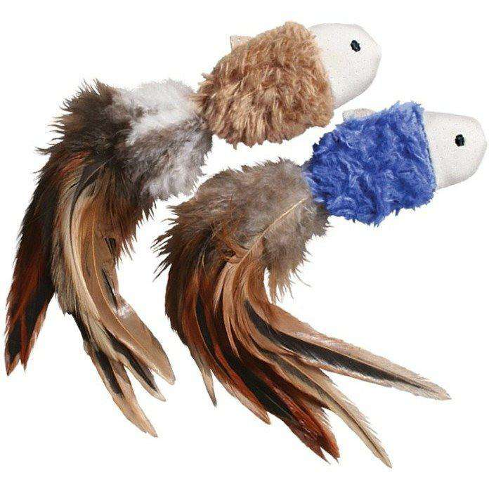 Kong Cat Crinkle Fish  Cat Toys - PetMax