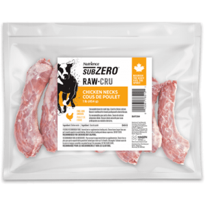 Nutrience Subzero Raw Dog Food Chicken Necks Raw Dog Food [variant_title] [option1] - PetMax.ca