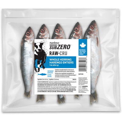 Nutrience Subzero Raw Dog Food Whole Herrings Raw Dog Food [variant_title] [option1] - PetMax.ca