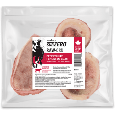 Nutrience Subzero Raw Dog Food Beef Femurs  Raw Dog Food - PetMax