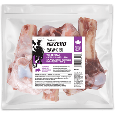 Nutrience Subzero Raw Dog Food Boar Drums | Raw Dog Food -  pet-max.myshopify.com