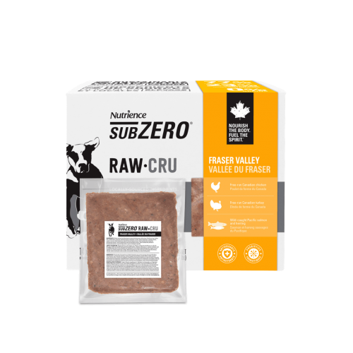 Nutrience Subzero Raw Dog Food Fraser Valley Raw Dog Food [variant_title] [option1] - PetMax.ca