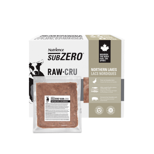 Nutrience Subzero Raw Dog Food Northern Lakes  Raw Dog Food - PetMax
