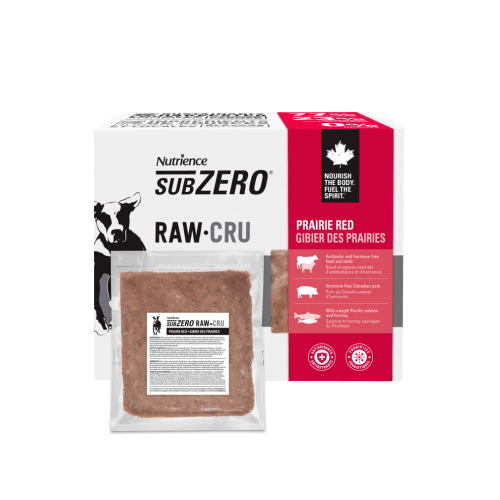Nutrience Subzero Raw Dog Food Prairie Red  Raw Dog Food - PetMax