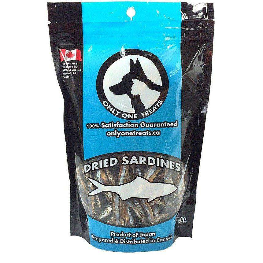Only One Treats Dried Sardines  Cat Treats - PetMax