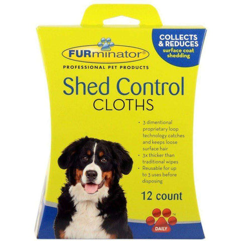 Furminator Shed Control Cloths For Dogs, Grooming, Furminator Inc. - PetMax