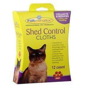 Furminator Shed Control Cloths For Cats, Cat Grooming, Furminator Inc. - PetMax Canada